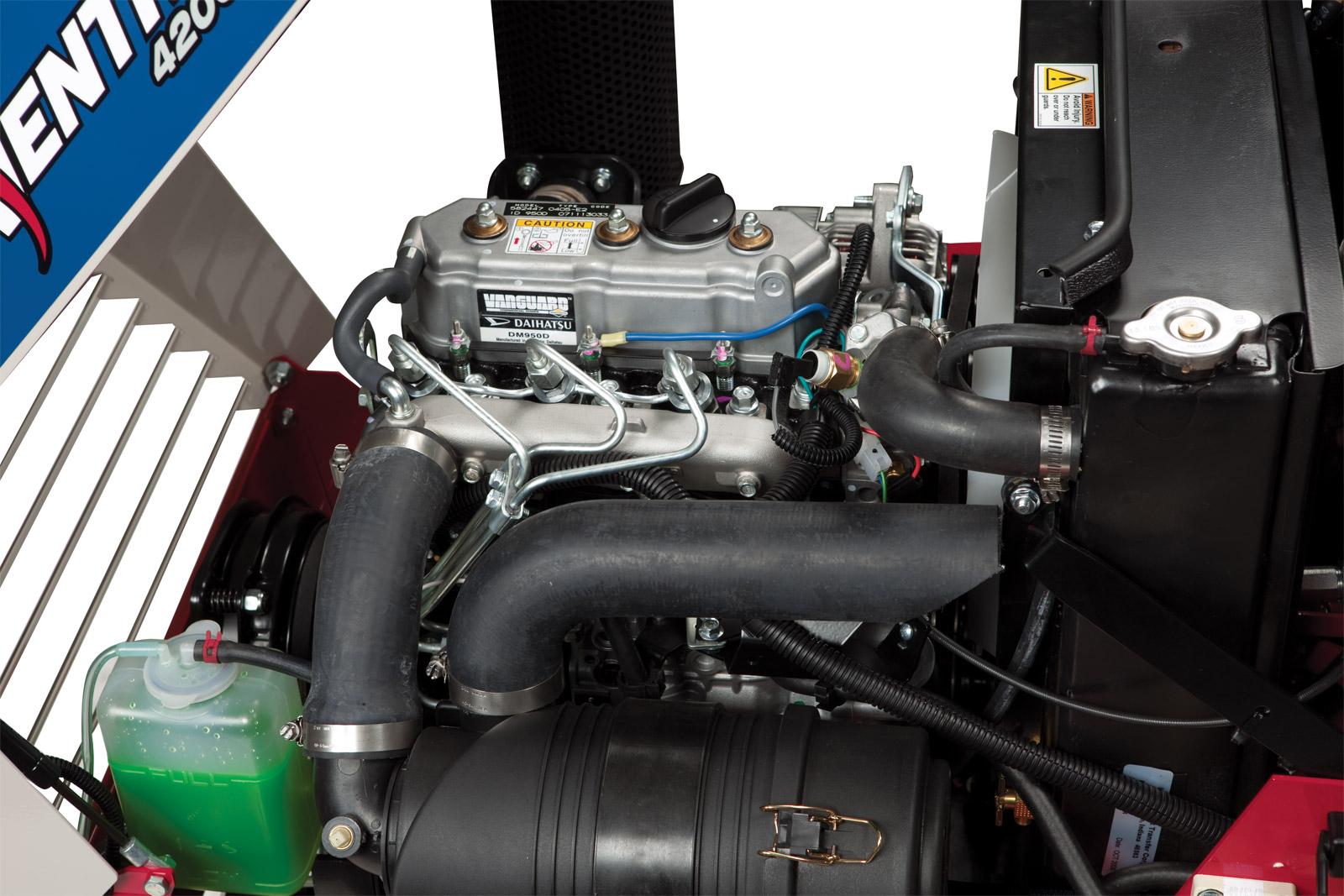 ventrac kt4200 4200 vxd rh ventrac com Daihatsu 3 Cylinder Diesel Engine Daihatsu Vanguard Engine Parts