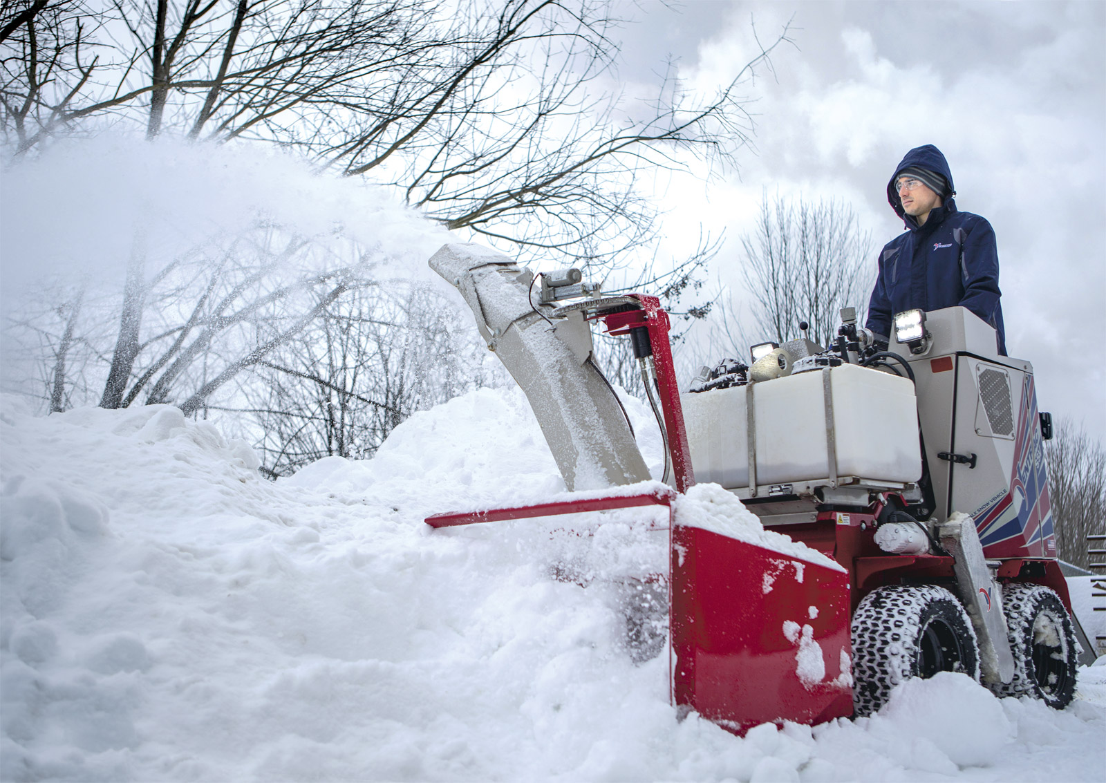 Ventrac SSV - Sidewalk Snow Vehicle