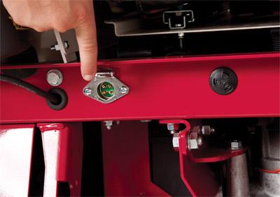 Rear 12 Volt Outlet - Part of the 12 Volt Rear Outlet Kit