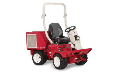 Ventrac 3400Y All Wheel Drive Compact Articulating Tractor - Right side profile of the 3400Y Diesel tractor