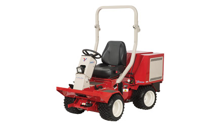 Ventrac 3400Y All Wheel Drive Compact Articulating Tractor - Left side profile of the 3400Y Diesel tractor