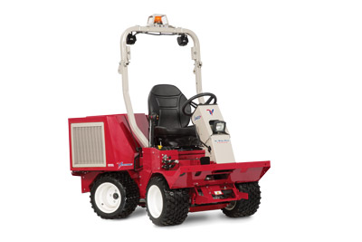 Ventrac 3400Y Articulating Tractor - Available with suspension seat and overhead LED and strobe lights