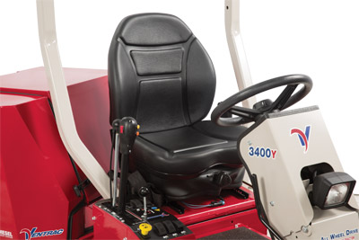 Suspension Seat for the Ventrac 3400 - Optional suspension seat for the Ventrac 3400