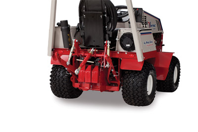 Standard 3 Point Kit for the 4500 - View of the optional universal 3 point kit for the Ventrac 4500