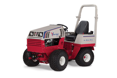 Ventrac 4500K All Wheel Drive Tractor - Articulated steering and all wheel drive, the 4500K sits ready for any one of the 30 attachments that are made for it to use