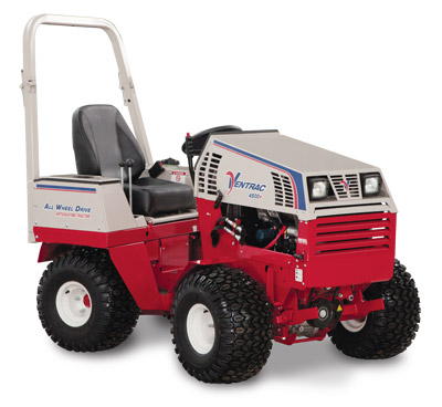 Ventrac 4500Y diesel AWD articulating compact utility tractor right side - Shown right side