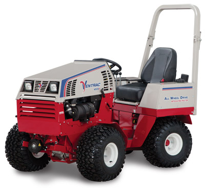 <strong>Ventrac 4500Y diesel AWD articulating compact utility tractor left side</strong> - Shown left side