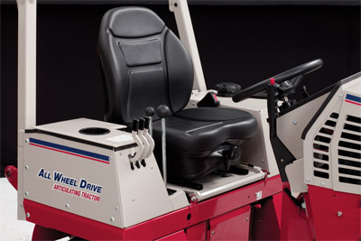 Suspension Seat for the Ventrac 4500 - Optional suspension seat for the Ventrac 4500