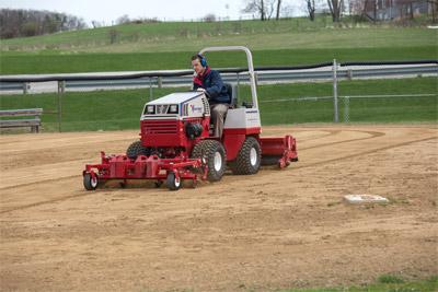Ventrac Ballpark Groomer & Renovator - Complete ballpark maintenance.