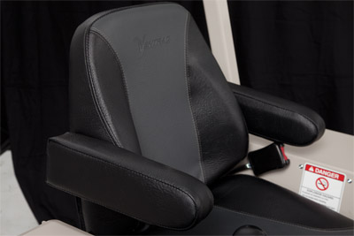 Optional Armrests for Ventrac 4500 - Kit to add armrests to the standard seat of the Ventrac 4500