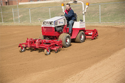 Ballpark Renovator & Groomer for Ventrac 4500 - Ventrac makes it easy to bring infields back to life making even the oldest baseball diamonds new again.