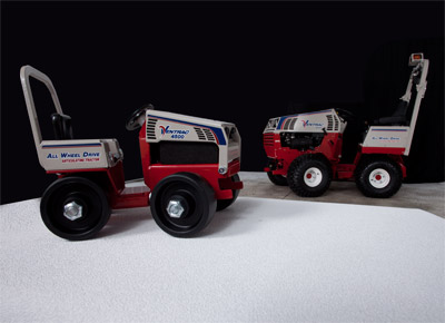Ventrac 4500 Collectible Scale Model comparison