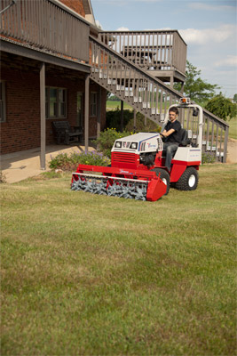 Ventrac 4500Y with Aera-Vator - Easily aerate your lawn without damaging turf with the 4500 and the Aera-Vator