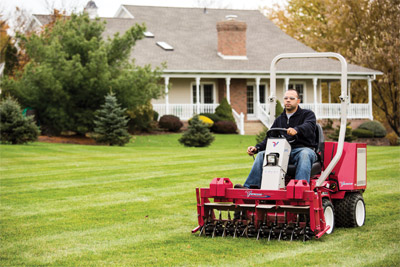 Aerator for the Ventrac 3400 - Efficiently aerate your lawn without damaging the turf