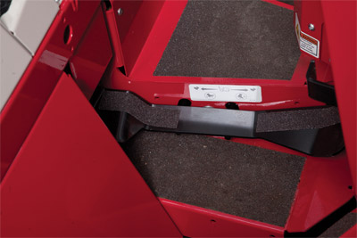 Foot Control for Ventrac 4500 - Adds foot pedal control to the Ventrac 4500