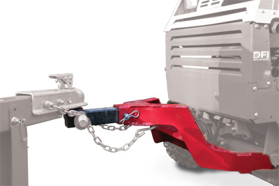Highlight of the HH150 Trailer Mover - The HH150 Trailer Mover for the Ventrac 4500