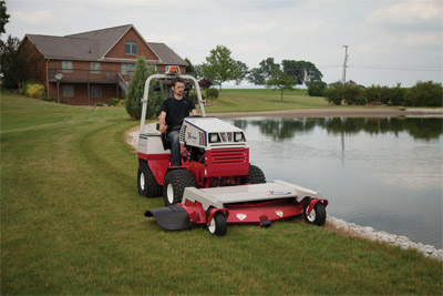 Ventrac 4500 with Complete Mowing Deck