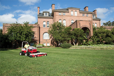 Ventrac HM722 Finishing Mower on the 4500