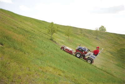 Ventrac 4000 series - Shown with HM602 Mower Deck