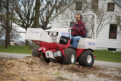 Ventrac 4000 series - Stump Grinder attachment