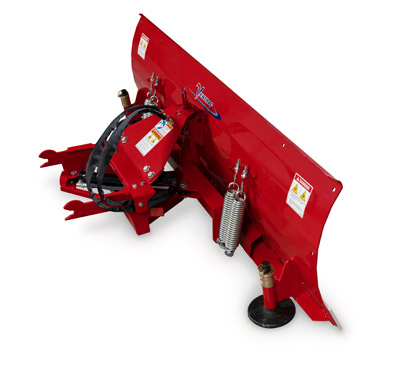 Ventrac Dozer Blade Profile - All control functions are performed with the S.D.L.A. control for raising and lowering the blade or angling it left or right.