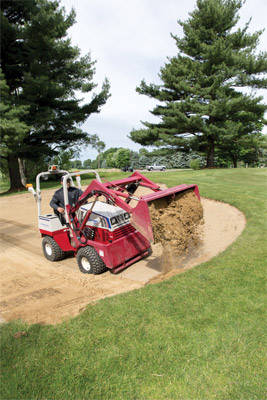 Ventrac 4500Y working with Versa-Loader