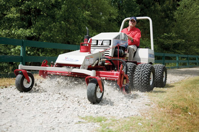 Ventrac 4000 series - Power Rake
