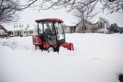 Ventrac 3400 Snow Removal Setup Cab
