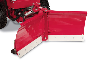 "Ventrac V-Blade Closeup 03 - Forward ""V"" configuration"