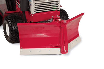 "Ventrac V-Blade Closeup 01 - Rear ""V"" configuration"