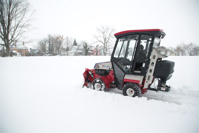 Ventrac 4500Z Propane with Winter Package - The 4500Z with optional Propane kit battles the winter elements the way that only Ventrac does.