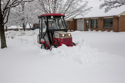 Ventrac 4500 with complete snow package