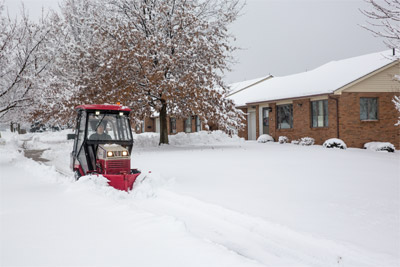 Ventrac 4500 Ready to Battle Winter - Ventrac is your winter advocate and the right tool for battling the winter weather.