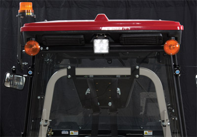 DIRECTIONAL SIGNAL/FLASHER - Optional light kit for the Ventrac 4500 Cab