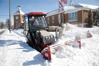 Ventrac 4000 series - Snow Setup