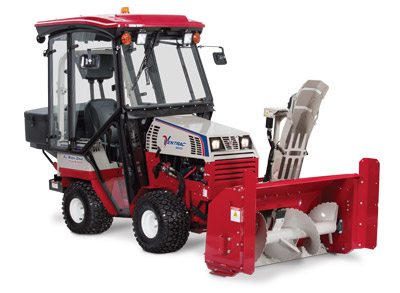 Ventrac 4500Z Snow Setup with Snowblower