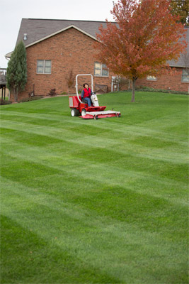 Ventrac 3400 with Mower Deck - Ventrac mower decks are easy to use and produce professional results every time