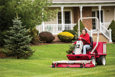 60 inch cut mower deck for Ventrac 3400 - the Ventrac mowing deck cuts evenly over dips, low spots, and uneven ground
