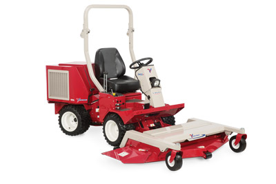 Ventrac 3400Y with LM600 Mower Deck - The Ventrac 3400Y diesel tractor with the 60 inch finish mowing deck