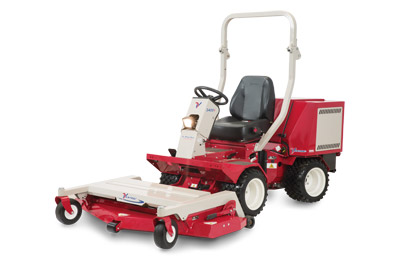 Ventrac 3400Y with LM520 Mower Deck Complete - 52 Inch cut finish mower deck