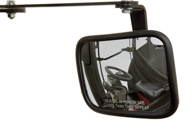 Mirror for LW450 Cab - Optional mounted mirror for the LW450 Cab.
