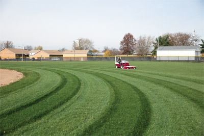 Ventrac 4500 Mowing with MC600 - With the 60-inch cutting width and 15 cutting positions of the MC600 mowing just became a lot more fun and a whole lot easier. Your lawns and parks can be beautiful and healthy in no time, with the help of Ventrac.