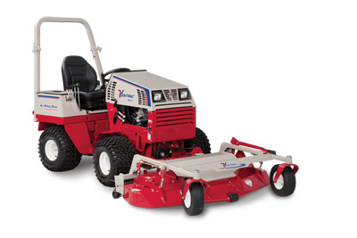 Ventrac 4500P with MC600 Mower Deck - 4500P shown equipped with the 60 inch cut, rear discharge, finish mower deck