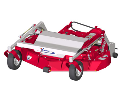 MC600 Mower Deck Diagram Top View - The Ventrac MC600 Rear Discharge Mower