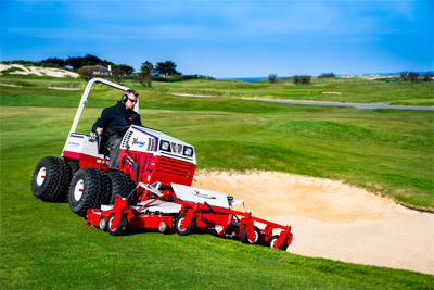 Ventrac Contour Mower - Golf courses trust Ventrac for maintaining their vast expanses of various turf configurations.