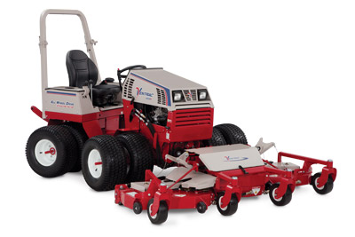 Ventrac 4500P with Contour Mowing Deck - 4500P pictured with the MJ840 Contour Deck with an amazing 83 inches of mowing width
