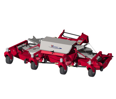 MJ840 Contour Mower Deck Diagram - Fine detail of the superior construction and design of the Ventrac Contour Mower
