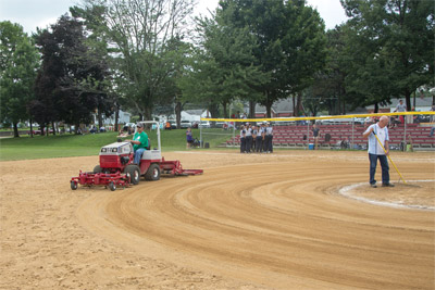 Ballpark Groomer & Renovator - Much more than an infield drag.