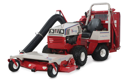 Ventrac 4500 with RV602 Vacuum System Profile - The Ventrac 4500 and the RV602 Vacuum System combine to make a powerful fall leaf management tool.