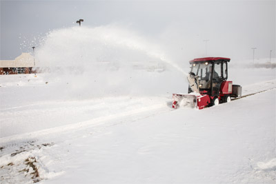 Ventrac 3000 with Snowblower